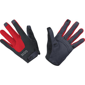 GORE WEAR C5 Trail Handschoenen, zwart/rood